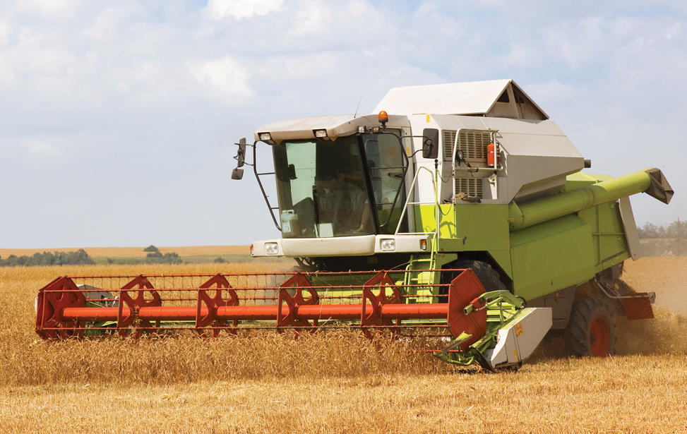 Combine  and Harvestor Applications