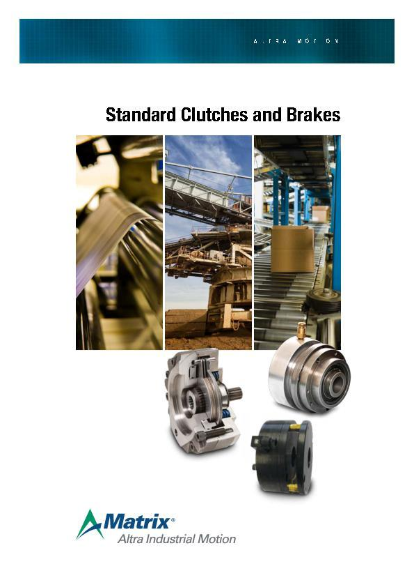 Standard Clutches & Brakes