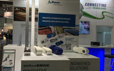 Bauer Products at SPS IPC Drives 2015